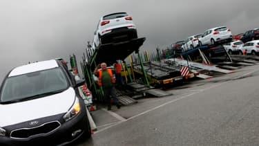 Les importations de voitures sud-coréennes en Europe ont bondi de 41% en 14 mois, de 24% en France