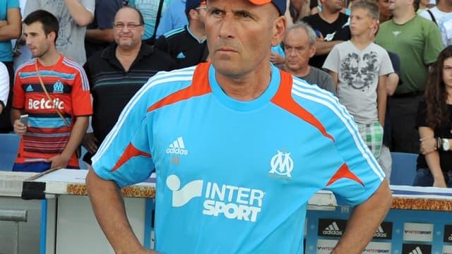 Elie Baup, entraîneur marseillais