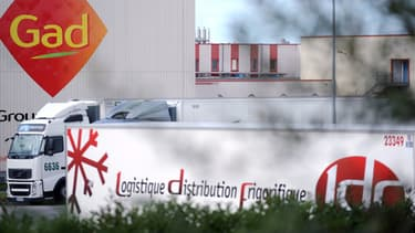 50 salariés de Gad de l'usine de lampaul bloquent celle de Josselin qui doit continuer à fonctionner.