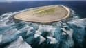 Située dans l'Océan indien, Tromelin est une île française d'environ 1km².