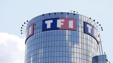 TF1 inaugure sa technologie de décrochage publicitaire entre l'antenne et l'internet, lors la finale de la Coupe du Monde de Rugby, le 31 octobre 2015.