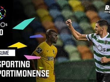 Résumé : Sporting 2-0 Portimonense - Liga portugaise (J20)