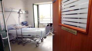 Une chambre d'hôpital. (Photo d'illustration)