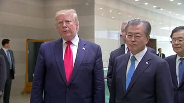 Trump et Kim Jong Un conviennent de relancer les négociations sur la dénucléarisation de la Corée du Nord
