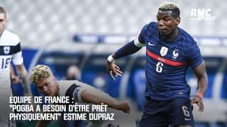 """Équipe de France : """"Pogba a besoin d'être prêt physiquement"""" estime Dupraz"""