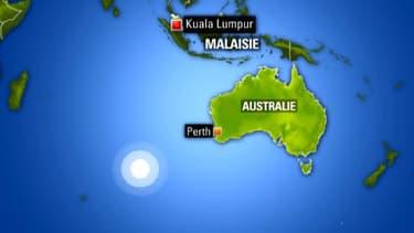 Les recherches menées au large de l'Australie vont se convcentrer dans les fonds sous-marisn