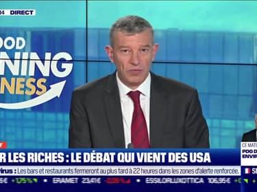 Le débat: Faut-il taxer les riches ?, par Jean-Marc Daniel et Nicolas Doze - 24/09