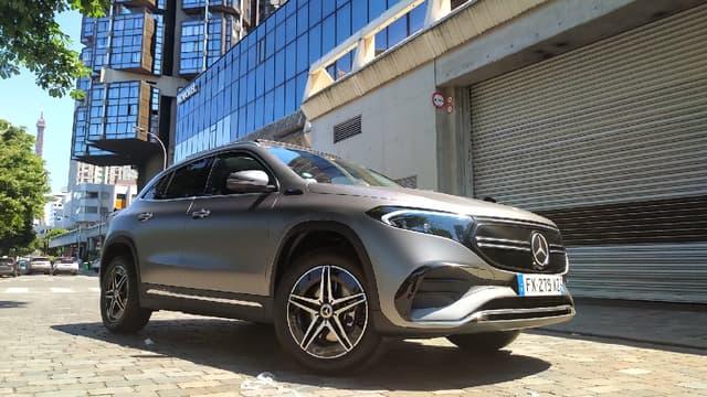 Cette semaine à l'essai, un petit SUV électrique, le Mercedes EQA.