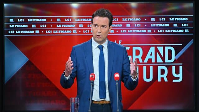 Guillaume Peltier est l'invité du Grand Jury RTL, Le Figaro, LCI du 30 mai 2021.