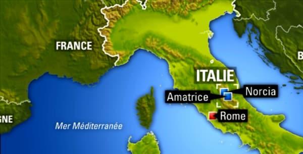 Un fort séisme a frappé le centre de l'Italie dans la nuit du 23 au 24 août. D'après un premier bilan, cinq personnes seraient mortes dans la catastrophe.