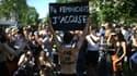 Plusieurs centaines de personnes ont manifesté ce samedi à Paris pour réclamer des mesures contre les féminicides.