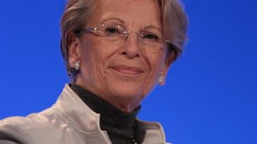 """Michèle Alliot-Marie """"n'exclut pas"""" de se présenter à la présidentielle de 2017."""
