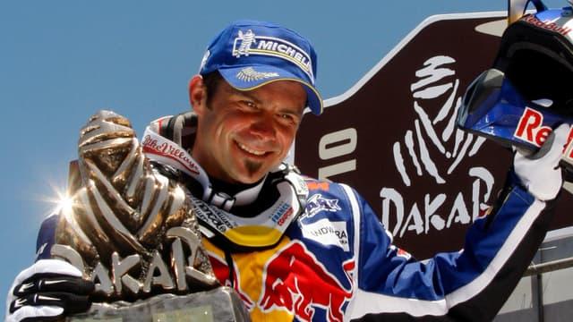 Cyril Despres veut de nouveau connaître les joies de la victoire sur un Dakar.