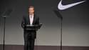 Le PDG de Nike, Mark Parker, a été nommé en 2006 par le fondateur de la marque, Phil Knight.