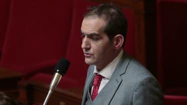 L'élu des Français de l'étranger, Pouria Amirshahi, le 8 février 2016 à l'Assemblée nationale.
