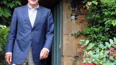 François Fillon dans la Sarthe cet été.