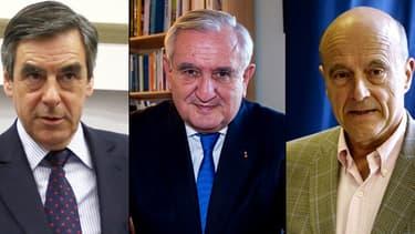 Trois anciens premiers ministres dirigeront l'UMP de façon collégiale jusqu'à octobre: François Fillon, Jean-Pierre Raffarin et Alain Juppé.