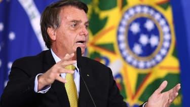 Jair Bolsonaro le29 juin 2021 à Brasilia