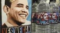 L'eau en bouteille Barack Obama