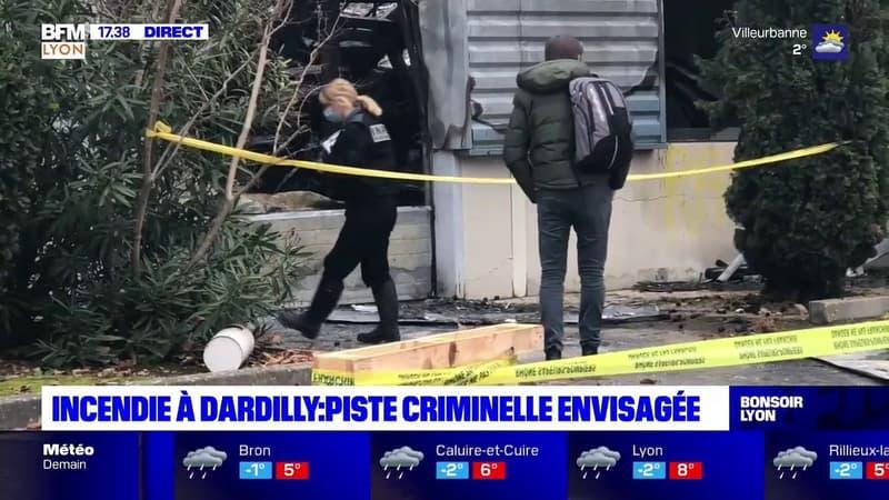 Dardilly : la piste criminelle envisagée après l'incendie dans une entreprise