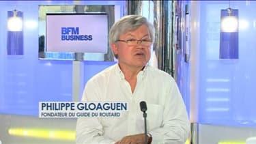 Philippe Gloaguen était l'invité de BFM Business ce lundi 5 août