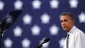 """Barack Obama, en octobre 2012 lors d'un meeting de campagne. Le président américain a appellé jeudi la Corée du Nord à renoncer à """"son attitude agressive""""."""