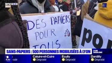 Lyon: 500 personnes manifestent pour la régularisation des sans-papiers