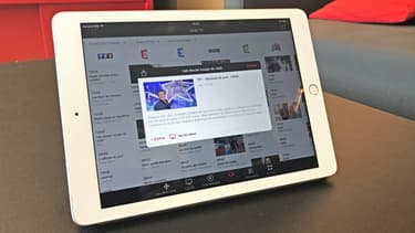 L'application MyCanal de Canal Plus permet de regarder TF1 en direct sur une tablette