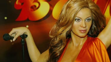 Une ancienne statue en cire de Beyoncé chez Madame Tussauds à New York, en mai 2004