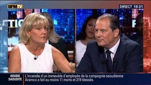 Jean-Christophe Cambadélis face à Nadine Morano dans BFM Politique