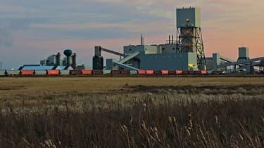 La mine Cory, au sud-ouest de Saskatoon au Canada.