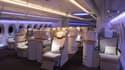 Actuellement, la plus longue version de l'A350 peut contenir 366 sièges