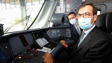 Jean-Pierre Farandou s'est aussi employé à répondre aux inquiétudes des cheminots face à la situation économique