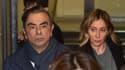 Carlos Ghosn et son épouse, Carole