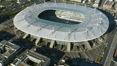Le Stade de France vu du ciel