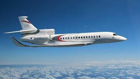Le Falcon 8X sera commercialisé en 2016