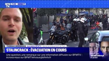 Crack à Paris: opération d'évacuation des toxicomanes dans le secteur des jardins d'Eole et Stalingrad