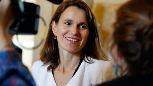 L'ancienne ministre de la Culture Aurélie Filippetti à l'Assemblée nationale à Paris, le 16 juin 2015