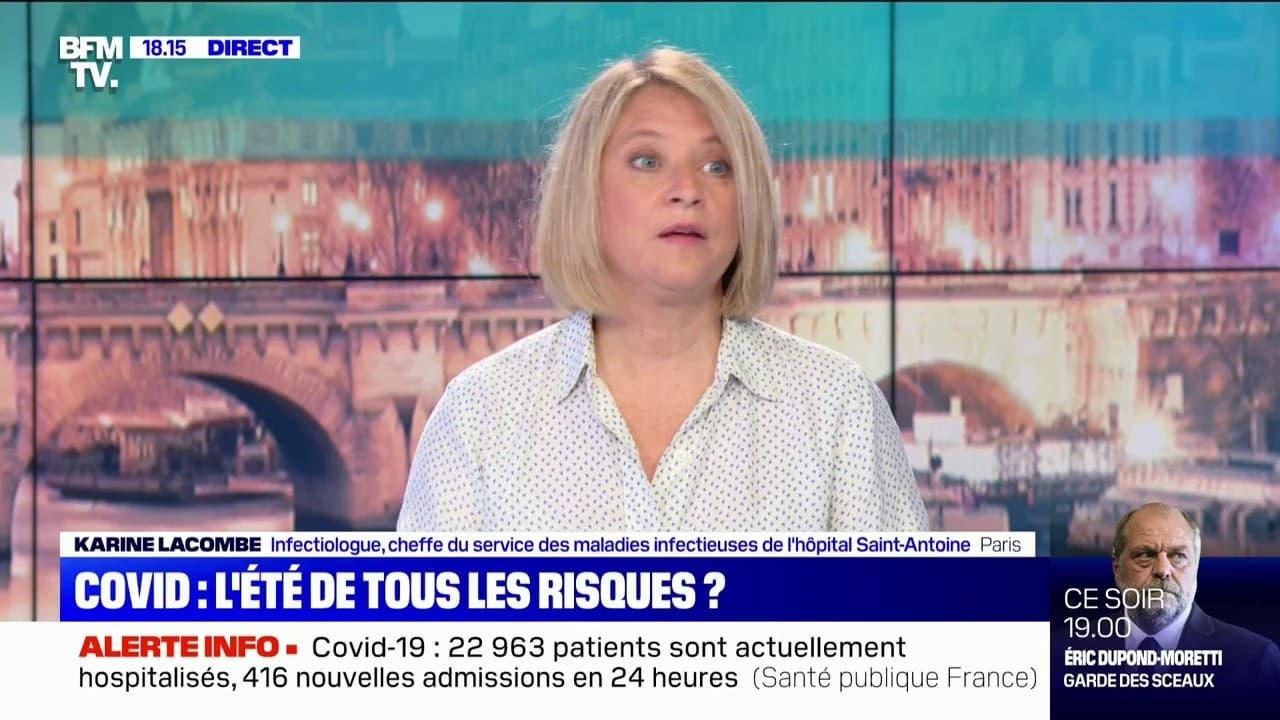 """Pr. Karine Lacombe: """"Il faut profiter du mois et demi qu'il reste pour mettre un point très important sur la vaccination"""""""