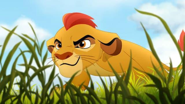 """Kion, le héros de """"The Lion Guard"""""""