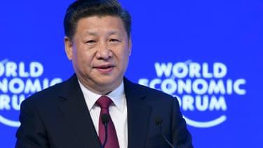 Xi Jinping en visite au forum économique mondial de Davos.