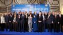 """Le """"groupe de contact"""" sur la Libye s'est entendu jeudi sur la création d'un mécanisme de soutien financier aux insurgés en lutte contre le régime de Mouammar Kadhafi, lors d'une réunion à Rome. /Photo prise le 5 mai 2011/REUTERS/Jacquelyn Martin/Pool"""