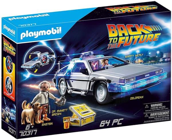 """Une boîte de Playmobil """"Retour vers le futur"""""""