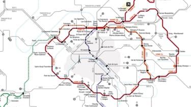 La mise en service de cette ligne 15 est prévue pour 2020.