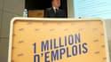Pierre Gattaz avait fait le pari de créer un million d'emplois en cinq ans.