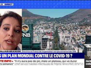 Najat Vallaud-Belkacem appelle à une réponse mondiale à l'épidémie de coronavirus