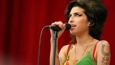 Amy Winehouse le 22 juillet 2007