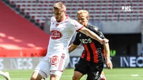 """Nice 3-2 Brest : """"On joue avec le feu"""" peste Chardonnet après la défaite à Nice"""