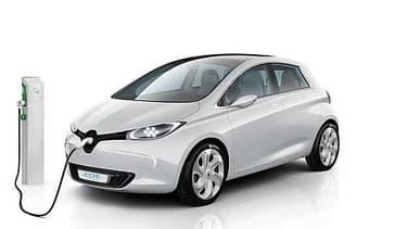 Le gouvernement veut favoriser les véhicules propres et innovants, comme la Zoe de Renault.