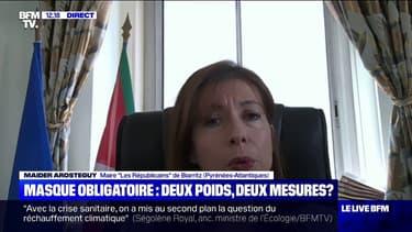 """La maire de Biarritz estime qu'""""il est inévitable que dans les prochaines semaines le port du masque soit obligatoire"""""""